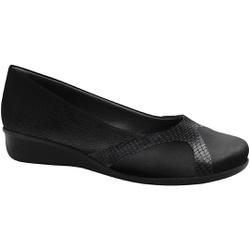 Sapato para Joanete e Esporão - Preto - MA302048PT - Pé Relax Sapatos Confortáveis