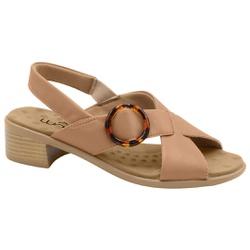 Sandália Salto Baixo - Antique - MA818023AN - Pé Relax Sapatos Confortáveis