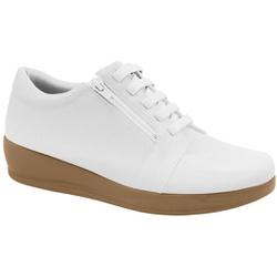 Sapato para Esporão e Fascite - Branco - MA939003BR - Pé Relax Sapatos Confortáveis