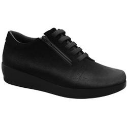 Sapato para Esporão e Fascite - Preto - MA939003PT - Pé Relax Sapatos Confortáveis