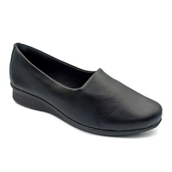 Sapato Feminino para Esporão e Fascite - Preto - PR302000PR - Pé Relax Sapatos Confortáveis