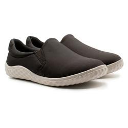Sapatilha Confortável Feminina - Preta - MA421036PT - Pé Relax Sapatos Confortáveis