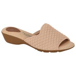 Tamanco Feminino para Esporão - Bege - MO7017-479BG - Pé Relax Sapatos Confortáveis