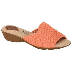 Tamanco Feminino para Esporão - Coral - MO7017-479CO - Pé Relax Sapatos Confortáveis