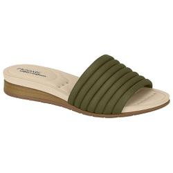 Tamanco Esporão e Fascite - Oliva - MO7113-232OL - Pé Relax Sapatos Confortáveis