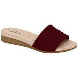 Tamanco Esporão e Fascite - Vinho - MO7113-232VI - Pé Relax Sapatos Confortáveis