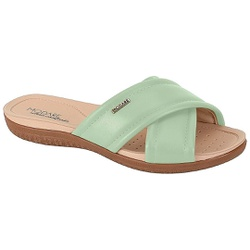 Tamanco para Esporão e Fascite - Verde Menta - MO7125-224VM - Pé Relax Sapatos Confortáveis