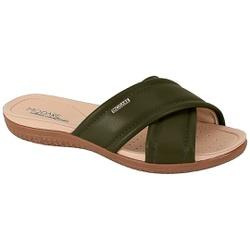 Tamanco para Esporão e Fascite - Oliva - MO7125-224OL - Pé Relax Sapatos Confortáveis