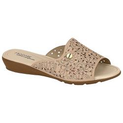Tamanco para Esporão e Fascite - Bege - MO7127-220BG - Pé Relax Sapatos Confortáveis