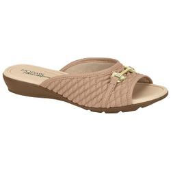 Tamanco para Esporão e Fascite - Bege - MO7127-228BG - Pé Relax Sapatos Confortáveis