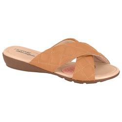 Tamanco para Esporão e Fascite - Areia - MO7127-232AR - Pé Relax Sapatos Confortáveis