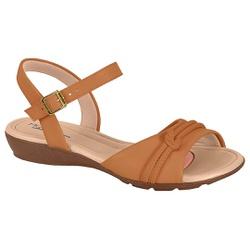 Sandália para Esporão e Fascite - Camel - MO7127-234CA - Pé Relax Sapatos Confortáveis