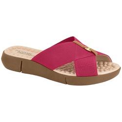 Tamanco Confortável Feminino - Cereja - MO7142-101CE - Pé Relax Sapatos Confortáveis