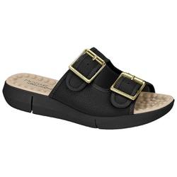 Birken Especial para Esporão e Fascite com Massageador - Preta - MO7142-113PT - Pé Relax Sapatos Confortáveis