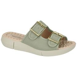 Birken Especial para Esporão e Fascite com Massageador - Verde Água - MO7142-113VA - Pé Relax Sapatos Confortáveis