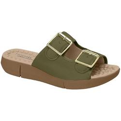 Birken Especial para Esporão e Fascite com Massageador - Oliva - MO7142-113VD - Pé Relax Sapatos Confortáveis