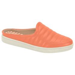 Mule para Esporão e Fascite com Massageador - Coral - MO7363-100CO - Pé Relax Sapatos Confortáveis