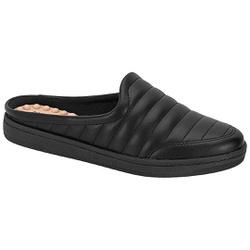 Mule para Esporão e Fascite com Massageador - Preto - MO7363-100PT - Pé Relax Sapatos Confortáveis