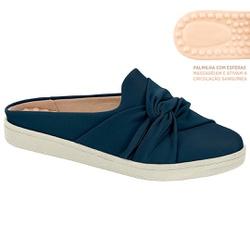 Mule c/ Palmilha Massageador para Esporão e Fascite - Azul - MO7363-101AZ - Pé Relax Sapatos Confortáveis