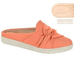 Mule c/ Palmilha Massageador para Esporão e Fascite - Coral - MO7363-101CO - Pé Relax Sapatos Confortáveis