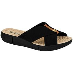 Tamanco Confortável Feminino - Preto - MO7142-101PT - Pé Relax Sapatos Confortáveis