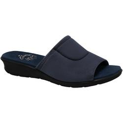 Tamanco Confort para Joanete e Esporão - Azul - MA10061A - Pé Relax Sapatos Confortáveis