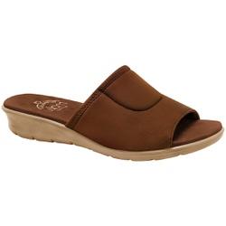 Tamanco para Joanete E Esporão - Camel - MA10061CA - Pé Relax Sapatos Confortáveis