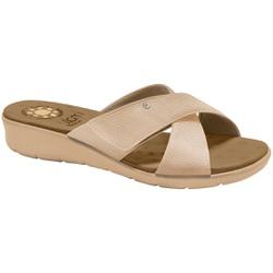 Tamanco para Pés Largos e Esporão - Bali Bistro - MA10075CB - Pé Relax Sapatos Confortáveis