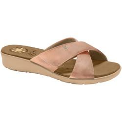 Tamanco Confort Esporão e Fascite com Velcro - Cobre - MA10075CA - Pé Relax Sapatos Confortáveis