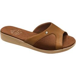 Tamanco Joanete e Esporão - Caramelo - MA14039CA - Pé Relax Sapatos Confortáveis