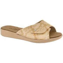 Tamanco Velcro Fascite E Esporão - Suotira Bege - MA14052SB - Pé Relax Sapatos Confortáveis