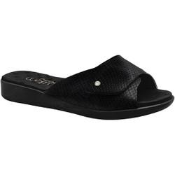 Tamanco Velcro Fascite E Esporão - Preto - MA14052PT - Pé Relax Sapatos Confortáveis