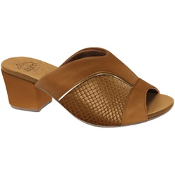 Tamanco Comfort Joanete - Ambar - MA176084AM - Pé Relax Sapatos Confortáveis