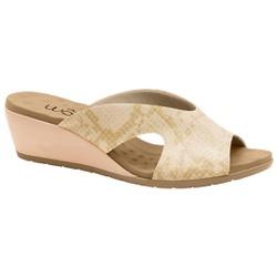 Tamanco Extra Confortável - Suotira Bege - MA206068FS - Pé Relax Sapatos Confortáveis