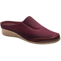 Babuche Feminino para Joanete E Fascite - Vinho - MA302008MA - Pé Relax Sapatos Confortáveis
