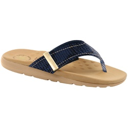 Chinelo para Esporão e Fascite - Azul - MA622019A - Pé Relax Sapatos Confortáveis
