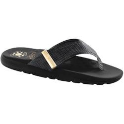 Chinelo para Esporão e Fascite - Preto - MA622019PT - Pé Relax Sapatos Confortáveis