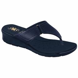Chinelo para Esporão e Fascite- Azul Navy - MA10007NAZ - Pé Relax Sapatos Confortáveis