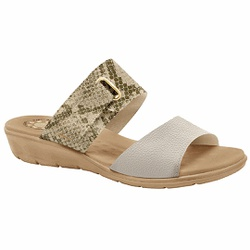 Tamanco Anatômico Esporão e Fascite - Off White Creme - MA10063OWC - Pé Relax Sapatos Confortáveis