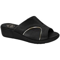 Tamanco para Joanete E Esporão - Mini Relax Preto - MA585018P - Pé Relax Sapatos Confortáveis