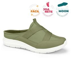 Mule Esportivo para Esporão e Fascite - Militar - CAL7325-0005MI - Pé Relax Sapatos Confortáveis