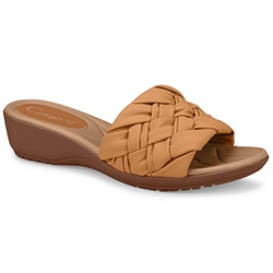 Tamanco para Pés Largos e Fascite Plantar - Ambar - CAL7411AM - Pé Relax Sapatos Confortáveis