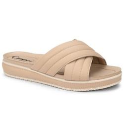 Tamanco para Esporão e Fascite Plantar - Natural - CAL7582BE - Pé Relax Sapatos Confortáveis