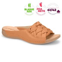Tamanco para Joanete e Fascite Plantar - Ambar - CAL7601-0005AMB - Pé Relax Sapatos Confortáveis