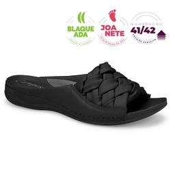 Tamanco para Joanete e Fascite Plantar - Preto - CAL7601-0008PT - Pé Relax Sapatos Confortáveis