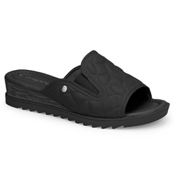Tamanco para Esporão - Preto - CAL7721-0007PT - Pé Relax Sapatos Confortáveis