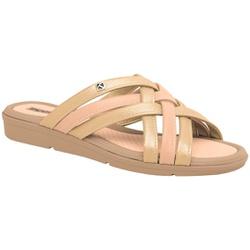 Tamanco Esporão e Fascite - Met Ouro / Rose - PI401238MOR - Pé Relax Sapatos Confortáveis