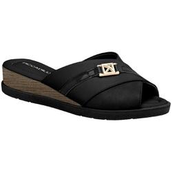 Tamanco Fascite e Esporão - Preto - PI458001PT - Pé Relax Sapatos Confortáveis