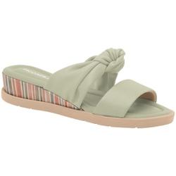 Tamanco Fascite e Esporão - Menta - PI458018ME - Pé Relax Sapatos Confortáveis