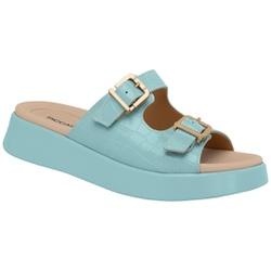 Birken para Fascite e Esporão - Azul - PI468005AZ - Pé Relax Sapatos Confortáveis